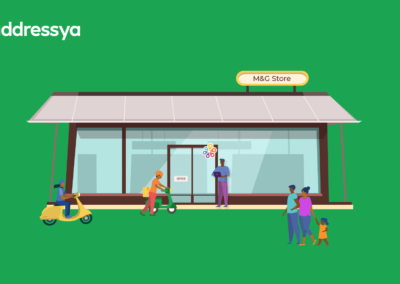 Addressya for Business: How To Share and Display your Addressya address